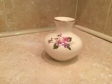 "Sadler Posy Vase England 103 Beige floral design 3"" Tall  Collectable Pottery"
