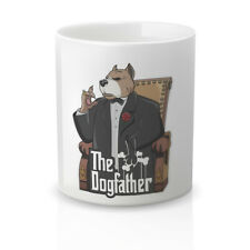 Taza Desayuno Café Regalo Original Divertida. taza con frase The DogFather.