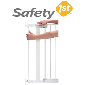 Safety 1st Baby Proofing Kids Metal Stair Gate Extension White 7cm Extended