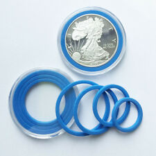 5x US Acrylic Capsules Coin Holders Case Storage with Adjustalbe Ring 18-39mm