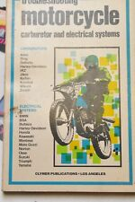 CLYMER  TROUBLESHOOTING MOTORCYCLE CARBURETOR & ELECTRICAL SYSTEMS (POCKET) 1976