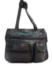 Large Women Real Leather Handbag Large Shopper Long Shoulder Strap Bag Multi UK