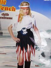 RG Costumes Pirate Wench Girl's Halloween Costume 4-6 Small #5165