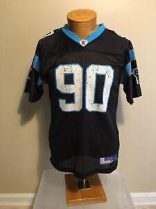 VTG~Julius Peppers~ #90 CAROLINA PANTHERS NFL Reebok Jersey Youth XL 18-20
