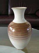 Johann Seltmann Vohenstrauß Bavaria Germany Vase Blumenvase Flower Vase Gold