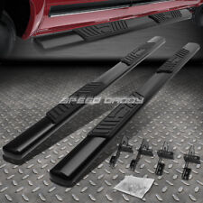 "FOR 04-08 FORD F150 EXT/SUPER CAB 5"" BLACK OVAL SIDE STEP NERF BAR RUNNING BOARD"