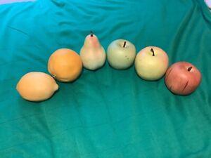JOBLOT ARTIFICIAL FAKE FRUIT. APPLES PEAR LEMON GRAPEFRUIT. Plastic spares.
