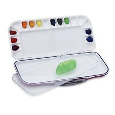 Mijello Fusion Leakproof/Airtight Watercolor Palette 18 Well MWP-3018 Pink