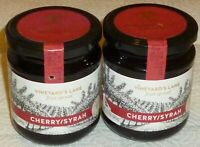 VINEYARD'S LANE GOURMET CHERRY/SYRAH WINE FRUIT SPREAD, 8.5 oz GREECE (2 PACK)