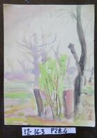 Painting Sketch Painting Watercolour Studio Preparatory Period Vintage