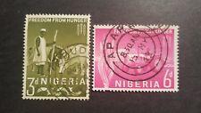 NIGERIA 1963 MI.NR. 132-133