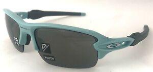Oakley Flak XS - Arctic Surf/Prizm Black Polarized Lens - OJ9005-11 youth fit