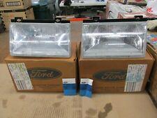 NOS Ford 1988 1989 1990 1991 1992 1993 1994 Temp Mercury Topaz Pair Headlamps