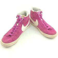 NIKE BLAZER WOMENS HIGH TRAINERS SIZE UK 6 EUR 40 PINK 518171-604