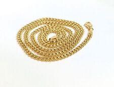 Halsketten aus Gelbgold ohne Steine