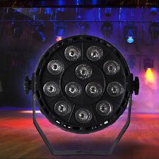 10 Stück Set 12 RGB LED Bühnenlicht Par DMX Beleuchtung Projektor Party Club DJ