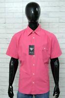 Camicia GAS Uomo Taglia Size XL Shirt Man Maglia Manica Corta PARI AL NUOVO
