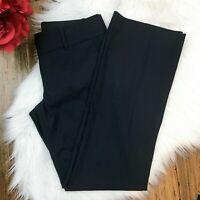 Ann Taylor Women's Black Career Work Dress Pants Trousers Size 2P Petite