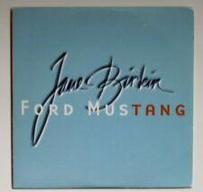 JANE BIRKIN chante GAINSBOURG :  FORD MUSTANG ♦ Promo CD Single ♦