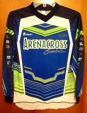 THOR MOTOCROSS youth lrg Arenacross racing jersey MX motorsports Torsten Hallman