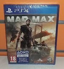 Mad Max PS4 NUOVO ITA