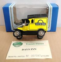 OXFORD DIECAST LIMITED EDITION MODEL T FORD - DAYS INN - NO.7397 OF 15000