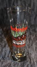 1989 Budweiser Clydesdales Holiday Anheuser-Bush .Inc. Pilsner Glass