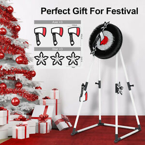 Indoor/Outdoor Foam Axe Throwing Game Set Family Party Sports Games Fun Toy Gift