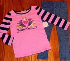 JUICY COUTURE BABY/KIDS GIRLS BRAND NEW LEGGINGS DRESS SET SUIT Sz 18-24M, NWT
