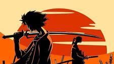 Samurai Champloo Poster Length :800 mm Height: 400 mm  SKU: 1148