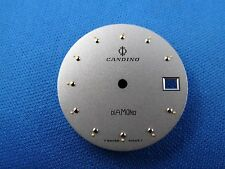 CANDINO -DIAMOND- Watch Dial 27.5mm -Swiss Made- Night Glow Dots  #306