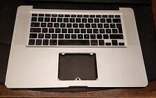 "MacBook Pro 15"" a1286 palmrest speeds Tastiera Keyboard 613-7742-b QWERTZ 2009"