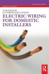 Electric Wiring for Domestic Installers by Scaddan, Brian Book The Cheap Fast