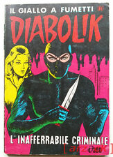 DIABOLIK R N 2 Prima Ristampa (Costola Bianca) 1978