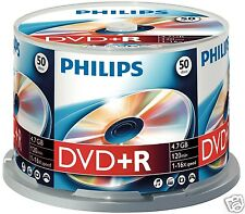 Philips DVD+R 4.7 GB, 16x Speed, Spindle 50 Piece