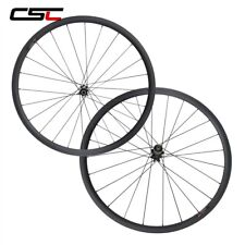 700C Carbon Disc Wheel Clincher Tubeless Cyclocross Straight Pull No Brake Track