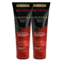 REVLON ColorSilk Brave Red 8.45 Fluid Ounces Colorstay Moisturizing Shampoo Set