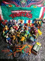 Playmates Toys Teenage Mutant Ninja Turtle tmnt Toy Action Figure Lot Rare Lot