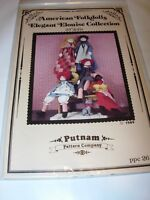 "PUTNAM/'S PATTERN COMPANY DOLL SEWING PATTERN /""SWEET DREAMS/"" 23/"""