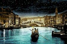 When You Wish Upon A Star Venice Italy Stencil Master Roamcouch S/N of only 100
