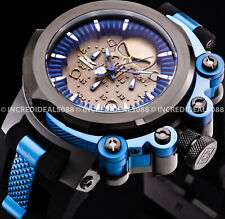 Invicta MARVEL PUNINSHER COALITION FORCES TRIGGER Chronograph Blue Black Watch