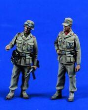 1/35 World War II German Afrika Corp Resin Figures Model Kit (2 Figures)