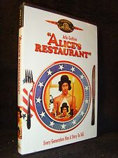 Alice's Restaurant (DVD 2001) Mint Disc!•No Scratches!•USA•Out-of-Print