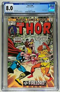 THOR #246 CGC 8.0 VF (MARVEL 1976) 🔑 CLASSIC BUCKLER COVER 🔥 THOR VS FIRELORD