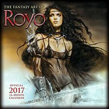 The Fantasy Art of Luis Royo 2017 Wall Calendar 9781416242741 New & Sealed