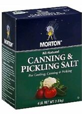 Morton Canning & Pickling Salt Lg Box 4lbs