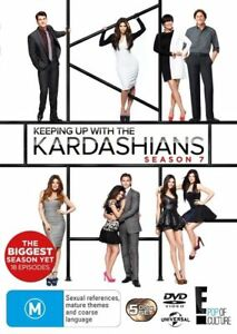 Keeping Up With The Kardashians : Season 7 DVD, 5-DISC - NEW  FREE POST AUS-WIDE