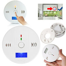 Home Security CO Carbon Monoxide Poisoning Smoke Gas Sensor Warn Alarm Detectors