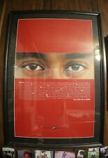 """Tiger Woods """"See Where This Is Going"""" Framed And Matted Nike Poster"""
