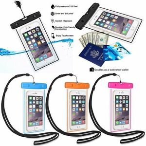 Waterproof Underwater Pouch Dry Bag Case Cover For Phone Cell Phone screen